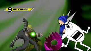 Rare Akuma & Dark Donald Survival MUGEN Battle PART 1