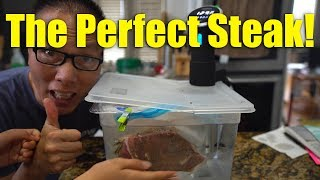 How To Cook The Perfect Steak with Anova Sous Vide Precision Cooker