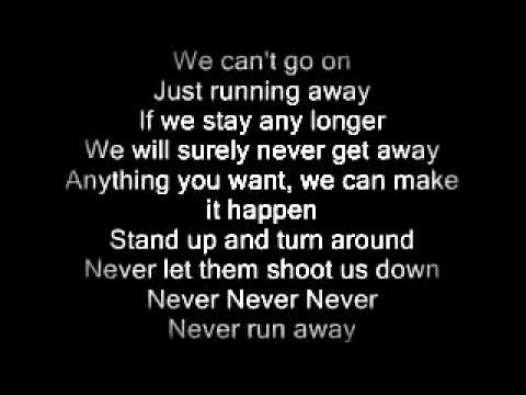 Heart - Never (Lyrics)
