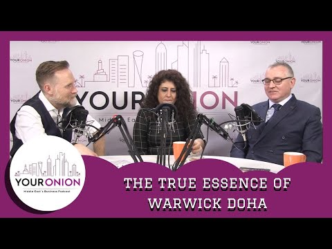 The True Essence of Warwick Doha with Marco Saxer & Nevine Shahied | Your Onion
