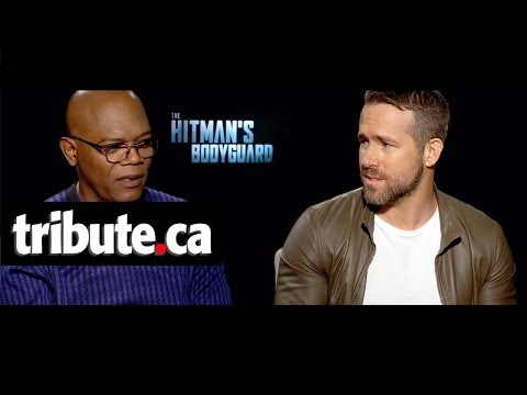Samuel L. Jackson & Ryan Reynolds - The Hitman's Bodyguard Interview