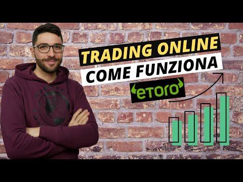 Iniziare il trading online con eToro