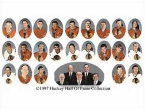 Lloyd Pettit Calling Chicago Black Hawk Hockey