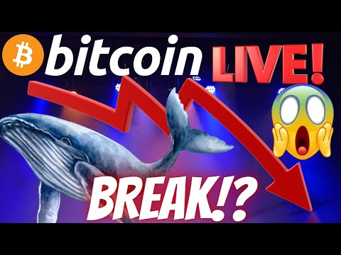 BITCOIN BREAK DOWN OR FAKE OUT!??