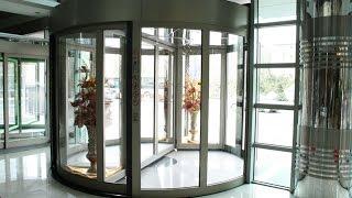 REVOLVING DOOR   AUTOMATIC REVOLVING DOORS   CRANE REVOLVING DOOR