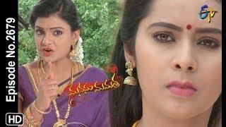 Manasu Mamata   21st August 2019    Full Episode No 2679   ETV Telugu