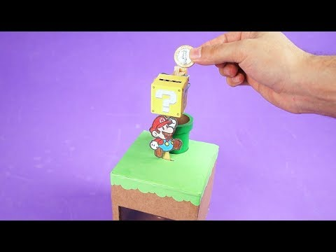 Amazing Electronic Coin Bank Box from Cardboard – DIY