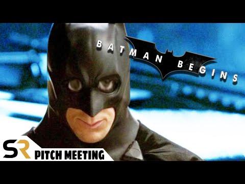Batman Begins Pitch Meeting: Christian Bale's