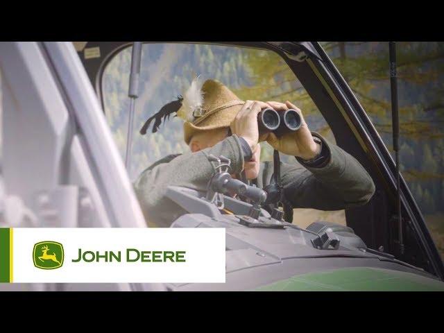John Deere | Gator - Volledig te openen voorruit