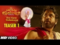 Om Namo Venkatesaya Video Teaser 1 Nagarjuna Anushka Shetty MM Keeravani mp3