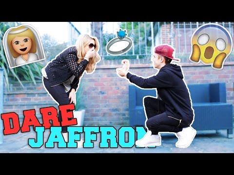 DARE JAFFRON! Jake Mitchell + Saffron Barker