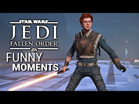 Star Wars Jedi Fallen Order - Funny Moments #1