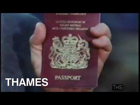 The British Passport | EU | Brexit | Common Market | This Week | 1988