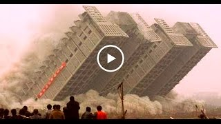 Снос зданий и строений - неудачный снос, взрывы домов, падение и разрушение зданий