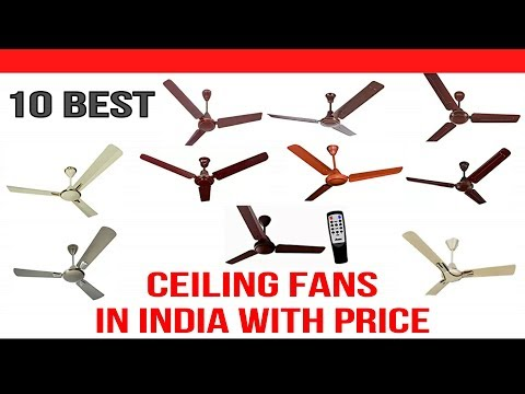 Top 10 Best Ceiling Fans in India with Price
