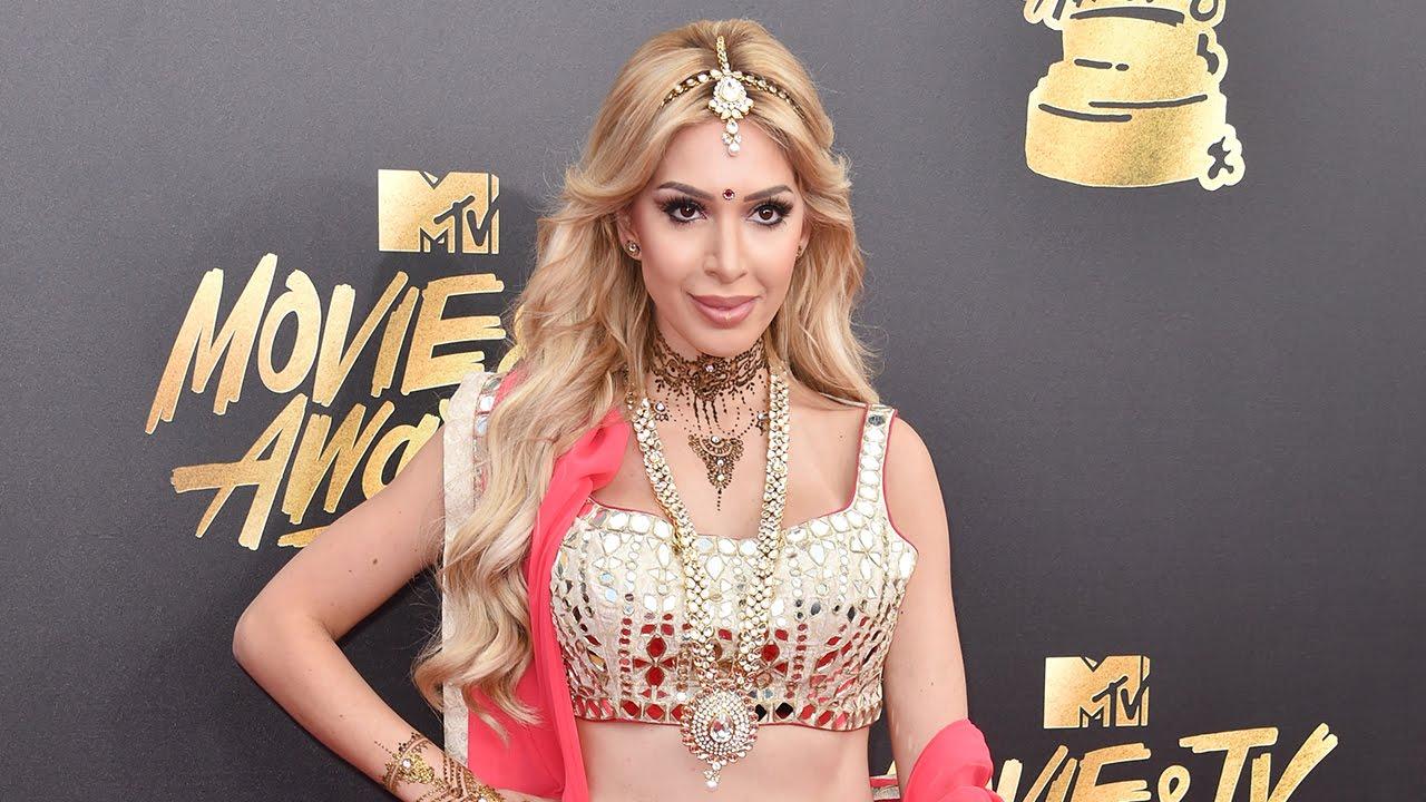 'Teen Mom' Farrah Abraham sparks controversy at MTV Awards with Bollywood ...