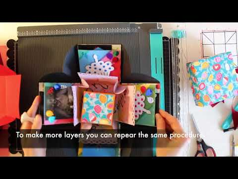DIY - How to make a paper exploding box