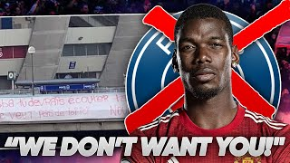 Pogba To PSG OFF After PSG Fans PROTEST?!