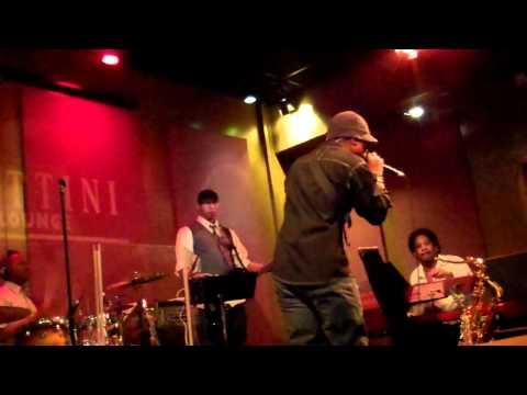"Andre Delano performs ""God Rest Ye Merry Gentlemen"" Live At Spaghettini's"