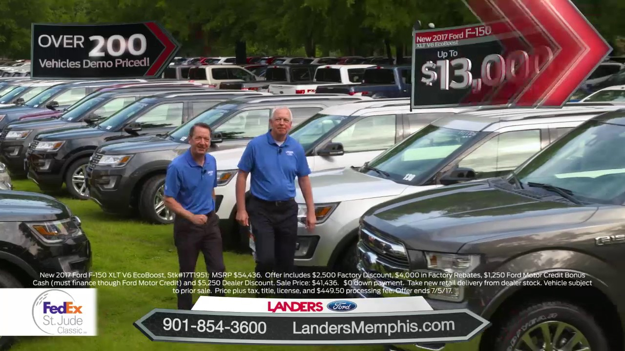The FESJC Courtesy Vehicles are Back at Landers Ford and Demo Priced! & The FESJC Courtesy Vehicles are Back at Landers Ford and Demo ... markmcfarlin.com
