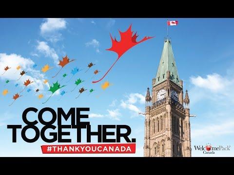 #ThankYouCanada - Canada Day 2016 Celebration