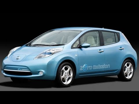 The Nissan Leaf Wins 2011 World Car of the Year at New York Auto Show