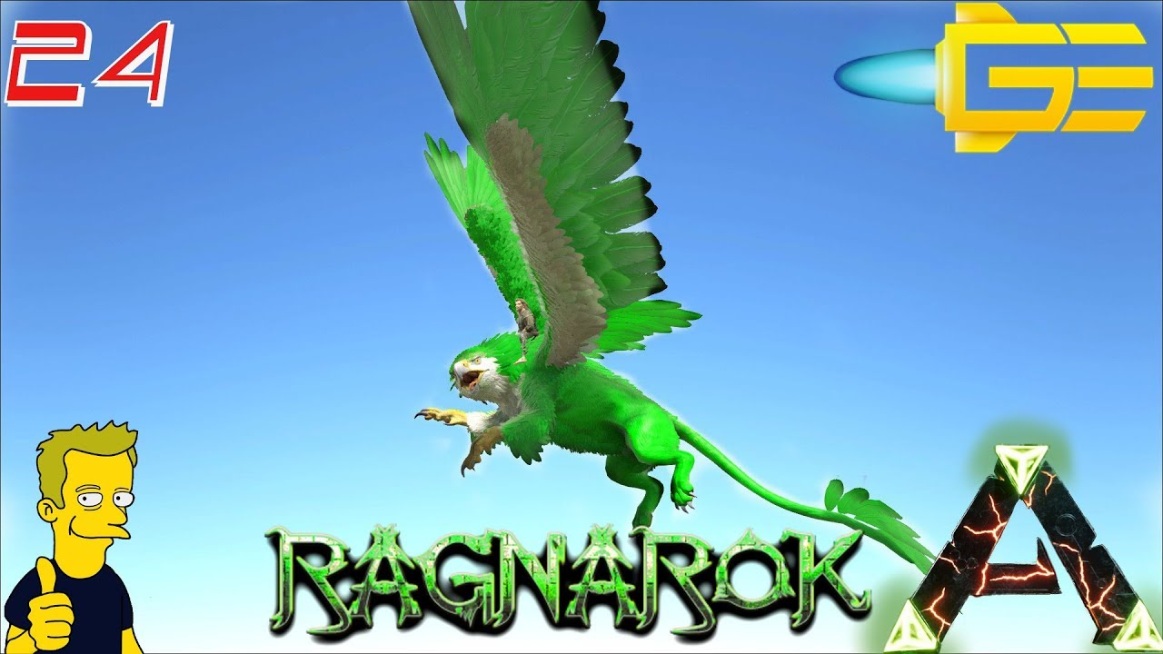 GRIFFIN BREEDING AND MUTATIONS WITH IMPRINTING RAGNAROK ARK: Survival  Evolved S1 E14