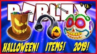 ROBLOX HALLOWEEN 2019 🎃 (OBJECTS COMING AND PROMOCODES ? )