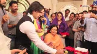 Qubool Hai - Celebration on Set on Completion of One Year of Telecast!