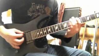 Arch EnemyのNemesisを弾いてみました。 ギターは左に振ってます。ぜひ...