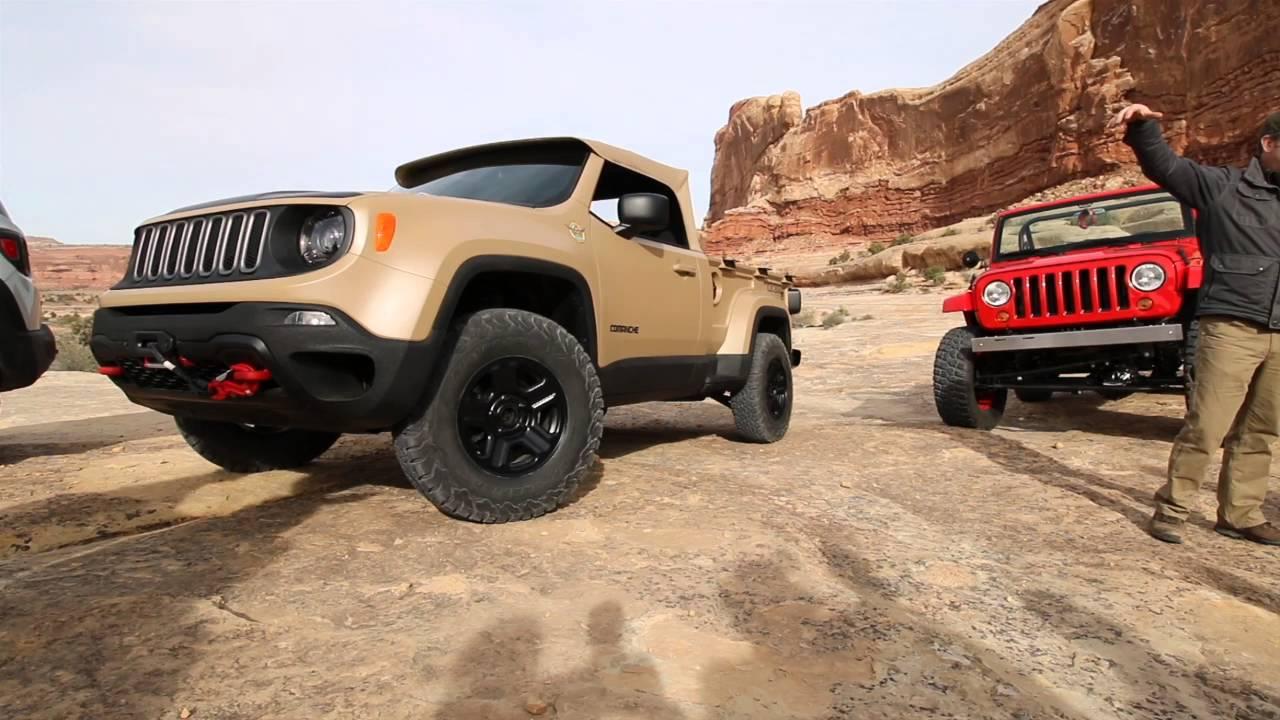 2016 Jeep Comanche >> 2016 Jeep Comanche Concept Youtube