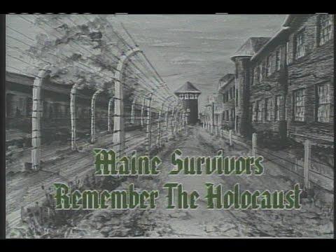 Maine Survivors Remember The Holocaust