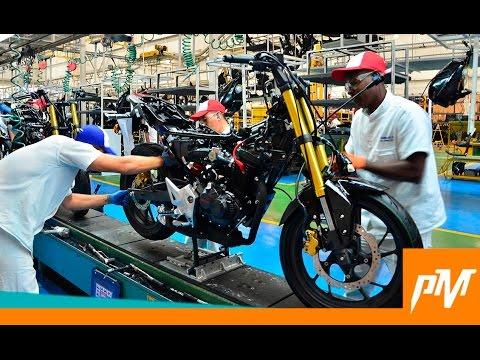 Lanzamiento CB 190R / Visita a la planta de Honda - Fanalca en Colombia