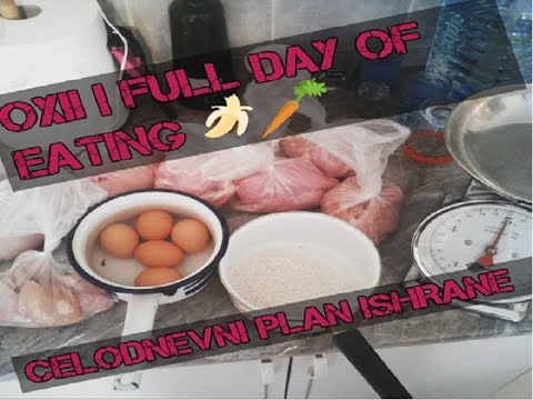 Oxii Celodnevna Ishrana | Full Day of Eating