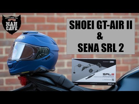 Shoei GT Air II And Sena SRL 2 - Install & Review