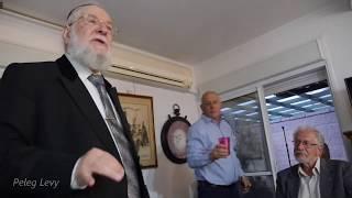 הרב לאו מספר  על גאולה כהן ועל הרצאה בקיבוץ נגבה 1968