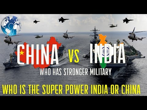 Who has the Stronger Military Power INDIA vs CHINA