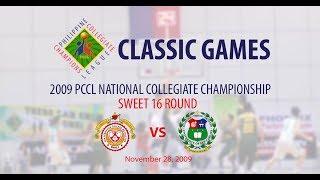 2009 PCCL NCC Sweet 16 round - San Sebastian Stags vs USC Warriors