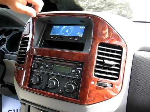 how to remove radio cd changer from 2004 mitsubishi montero for repair - Mitsubishi Montero 2003 Interior