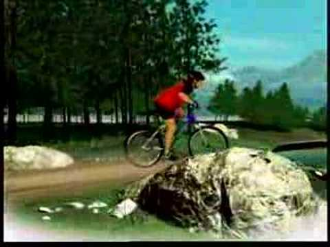 Agee's Bicycle commercial