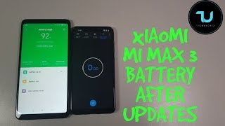 Xiaomi Mi Max 3 Battery test after updates!Drain,life,SOT,youtube videos! Snapdragon 636