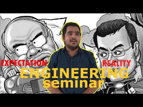 Engineering seminar - Hindustani comedy | The FunTastic Store