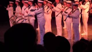 Royal swedish navy cadet band Musikparade Hannover 2014