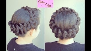 Hairstyle: Dutch Braided Crown | Chikas Chi