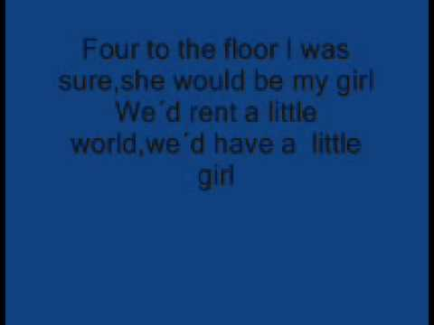 Starsailor -Four to the floor Lyrics