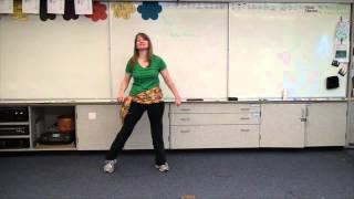 Waka Waka Dance Moves