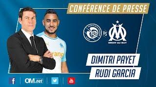 Suivez la conférence de presse de Dimitri Payet et Rudi Garcia #RCSAOM