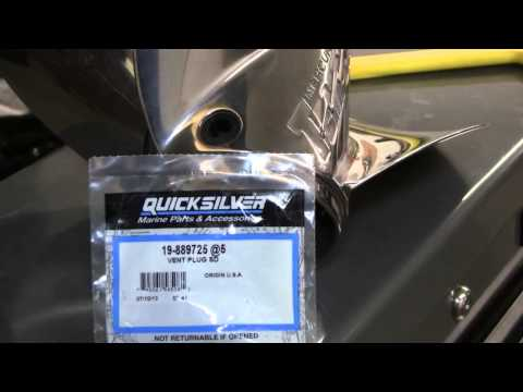 Vent Plug Propeller  Mercury  889725