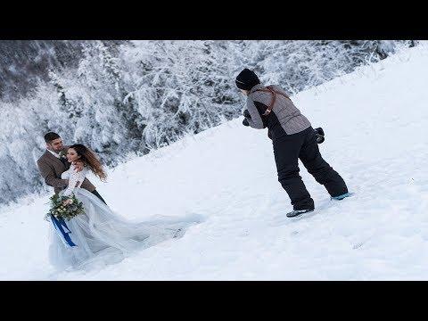 STYLED WEDDING PHOTOSHOOT IN ALASKA  | BEHIND THE SCENES