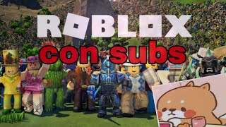 playing roblox 3 with subs